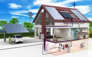 Energienutzung im eigenen Haus I Photovoltaik I Energie I Lohschmidt Solar- und Energie GmbH in 04758 Oschatz I Credits: stock.adobe.com